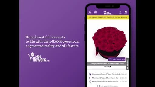 1-800-Flowers.com Continues To Innovate The Customer Experience As Valentine's Day Gifting Begins