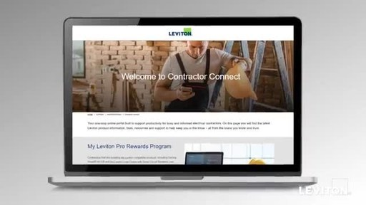 Leviton Launches Contractor Connect, A New Online Portal for Busy ...