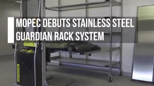Mopec Debuts Stainless-Steel Guardian Rack System