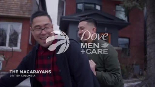 Dove Men+Care and the Toronto Raptors join forces to launch bonding over basketball campaign