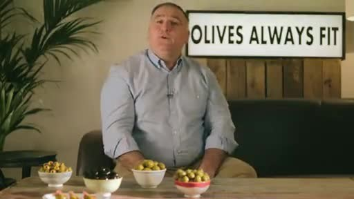 Tasty Message - Olives Always Fit