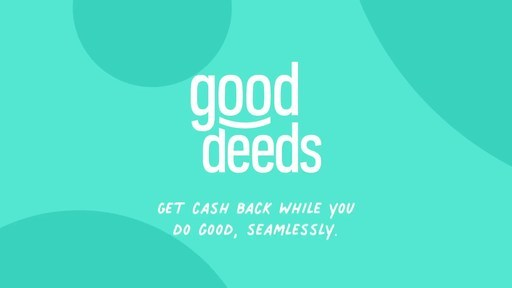 Good Deeds - Shop hundreds of brands, earn cash back, and automatically give to nonprofits (at no cost to you). Shop, Save, Give, Together.