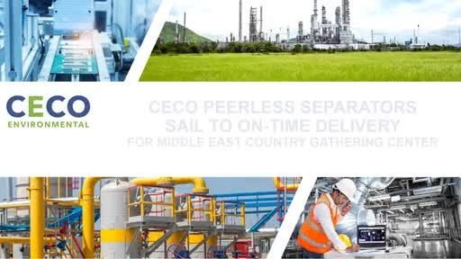 CECO-Peerless-Separators-Deliver-On-Time-to-ME-Gathering-Center-Customer-Video-final-2-26