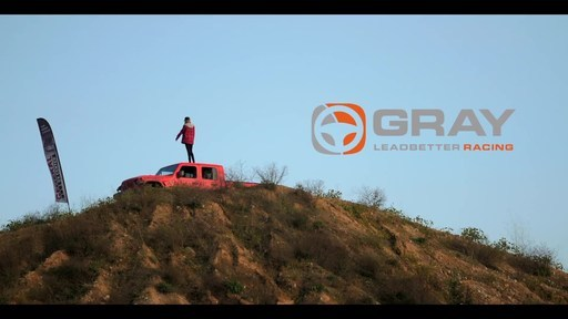Jeep's new Gladiator gets put to the test by 15-year old professional driver, Gray Leadbetter.
