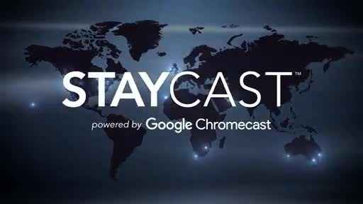 STAYCAST is now available in over 100,000 rooms. With deployments in hotels across North America as well as international regions including Australia, Middle East, United Kingdom, South Africa and Europe, STAYCAST continues to deliver guests their preferred OTT content with an easy-to-use, safe, and seamless experience.