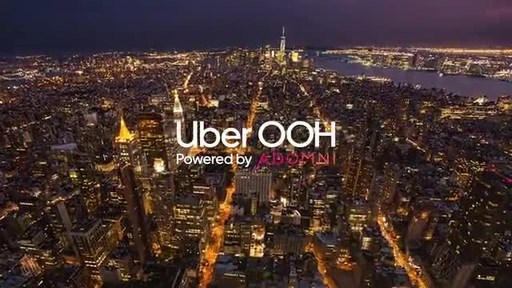 Uber OOH coming to NYC