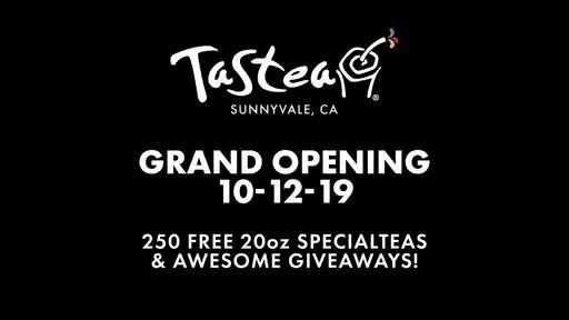 Tastea Sunnyvale Grand Opening