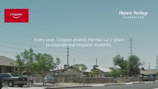 In partnership with the Hispanic Heritage Foundation, Colgate continues to empower Hispanic high school seniors to pursue dreams of higher education. More at http://www.colgate.com/HazLaU.
