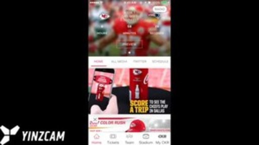 By turning the special edition, Chiefs-branded Coca-Cola cans, Kansas City fans can rewind or fast forward the team's historic moments, viewed through the Chiefs' official mobile app in augmented reality.