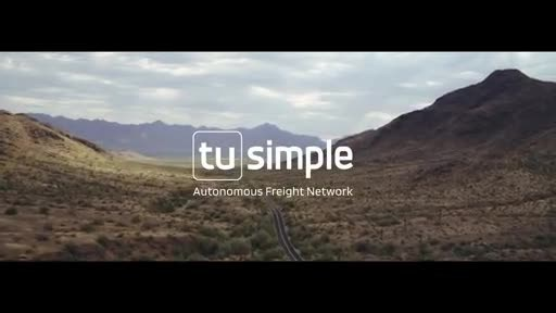 TuSimple Launches World's First Autonomous Freight Network with UPS, Penske, U.S. Xpress, and McLane Company, Inc.
