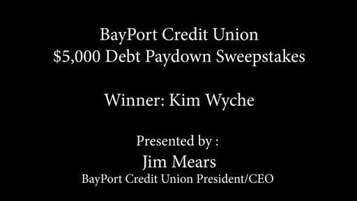 BayPort Announces Winners of Third Annual $50,000 Debt Paydown...