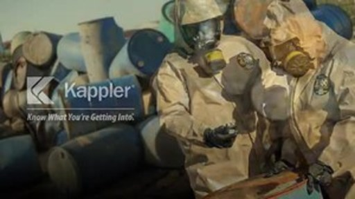 Virtually all protective apparel users have experienced the frustration of fogged-up face visors. This video demonstrates the dramatic improvement offered by Kappler's AntiFog Visor technology for gas-tight suits.