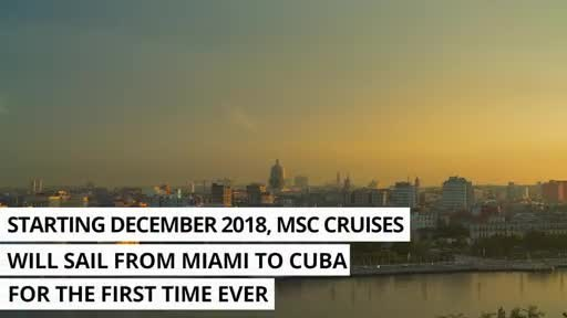 Countdown Begins to MSC Armonia's First Cruise from Miami to Cuba