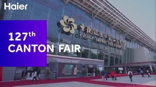 Haier, GE Appliances, Fisher & Paykel, AQUA y Candy develan sus soluciones para hogar inteligente basadas en escenarios en la convención totalmente digital de este año en la 127ma. Feria de Cantón.