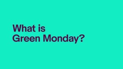 In 2007, eBay experienced one of its biggest sales day on the second Monday of December and named the day 'Green Monday' – a term that has since been widely adopted across the retail industry.