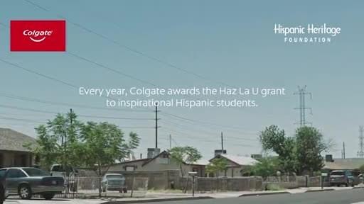 En asociación con la Hispanic Heritage Foundation, Colgate continúa motivando a estudiantes de bachillerato a perseguir sus sueños de educación superior.