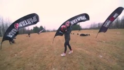 """2015/2016 CrossFit Games champion Katrín Davidsdottir competed in the Spartan """"Sprint"""" race outside of her home city of Reykjavik, Iceland."""