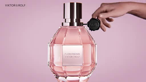 Nya Taylor-Joy As The Premiere Viktor&Rolf Flowerbomb Ambassadress