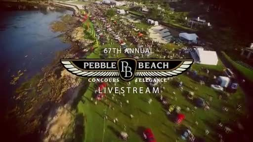 Pebble Beach Concours Livestream Promo Video