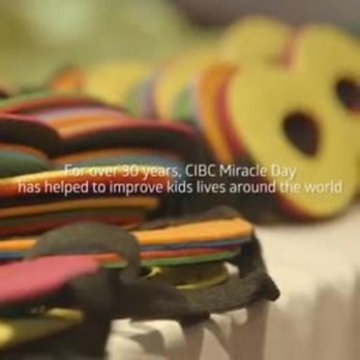 Video: CIBC Miracle Day raises $5.5 million for children's charities across the globe