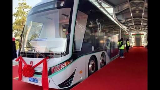 Shanghai Electric começa a realizar testes com o primeiro bonde guiado por trilhos virtuais da China equipado com o sistema iDRT