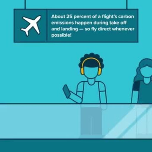 Travelers can take simple steps to reduce the impact of their flight emissions, like flying direct, and then opt to offset unavoidable emissions via high-quality, verified carbon reduction projects, offered through programs like Cool Effect's partnership with American Airlines.