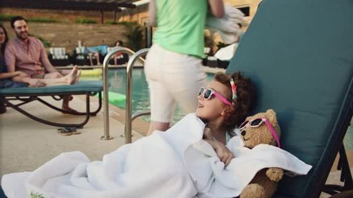 Smiles Ahead, the latest marketing campaign from Holiday Inn(R), shows how the brand delivers the joy of travel to everyone. The TV ad features a young girl traveling with her family and her beloved stuffed bear, which the hotel staff embrace as a special guest, bringing smiles to everyone.