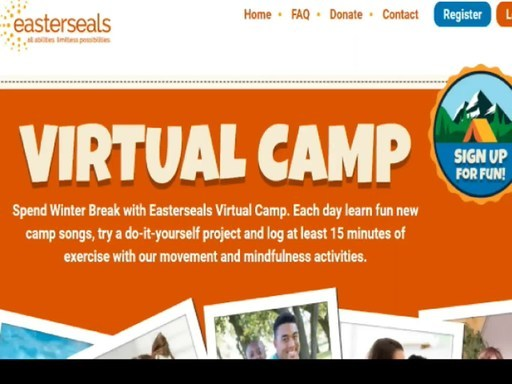 Easterseals Virtual Camp Brings Holiday Cheer to Children With Disabilities