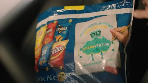 Frito-Lay Variety Pack and star of ABC's Shark Tank Robert Herjavec help turn dreams into realities with Frito-Lay Variety Pack's Dreamvention.