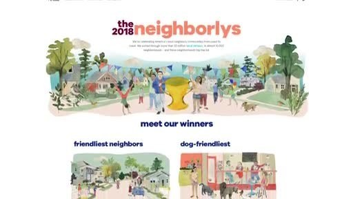 Trulia announces national and local winners of The 2018 Neighborlys to celebrate America's most beloved neighborhoods where locals love to live. Winners include neighborhoods in Oakland, Calif., Orlando, Philadelphia, Minneapolis, Long Beach, Calif., and Gilbert, Ariz.