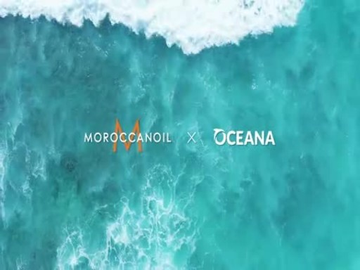 Moroccanoil announces partnership with Oceana on World Oceans Day.