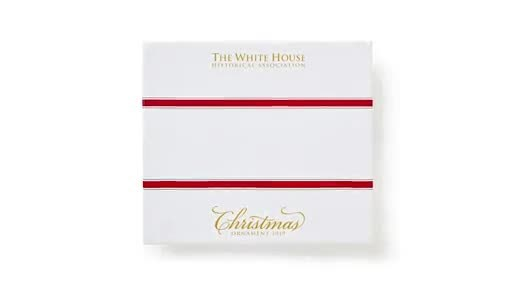 2019 White House Christmas.The Official 2019 White House Christmas Ornament
