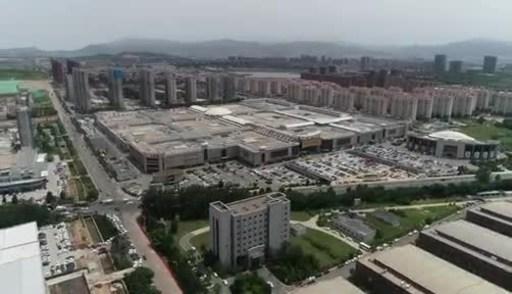Qingdao Center Exterior