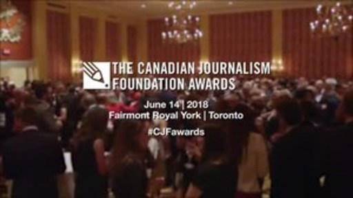 Video: See the highlights of last year's CJF Awards in Toronto at the Fairmont Royal York.