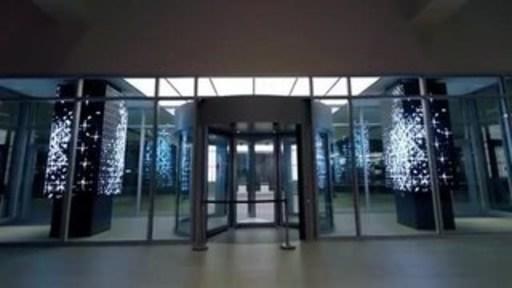 New LED Video Columns at Sheraton Dallas Hotel