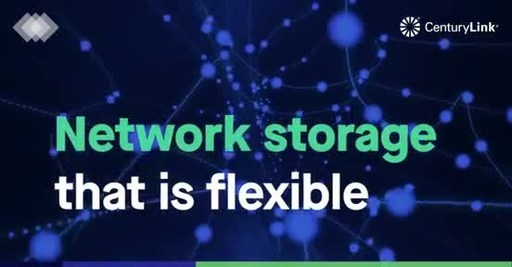 CenturyLink Network Storage allows businesses to store and manage data anywhere the CenturyLink network can reach.
