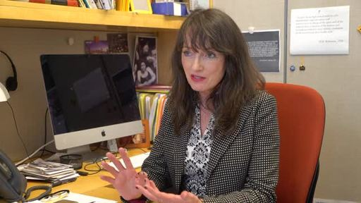 Virginia McEnerney, Executive Director of the Alliance for Young Artists & Writers, talks about the importance of the Awards, its 94-year history, and its notable alumni of creative leaders. Footage from Art.Write.Now National Exhibition (2016). Credit: Alliance for Young Artists & Writers.