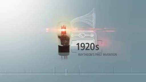 Raytheon patent history