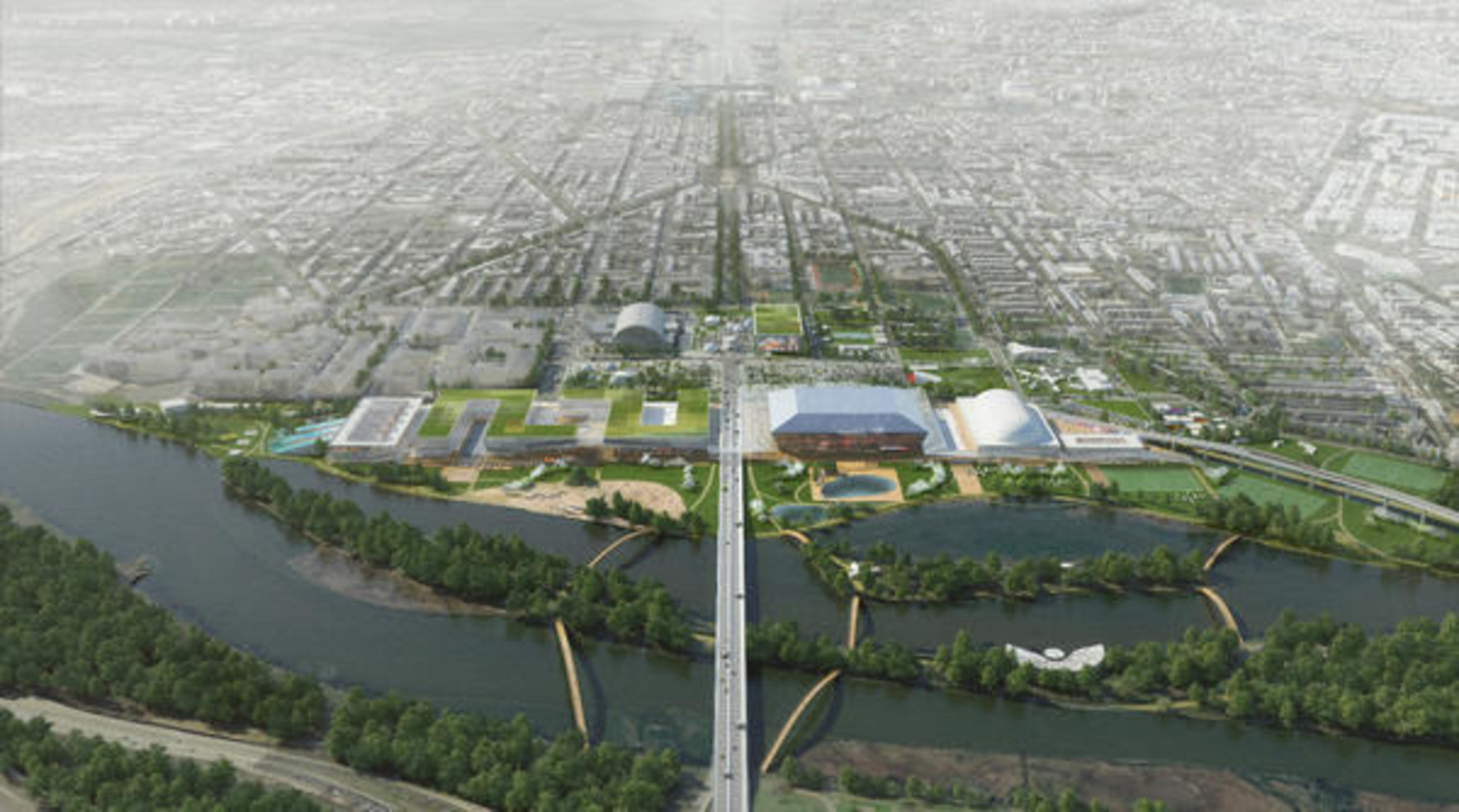 Events DC Reveals RFK Stadium-Armory Campus Masterplan Concepts