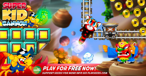 All of Super Kid Cannon's in-app-purchases, are socially responsible via Seeds. Download it now for FREE on  ...