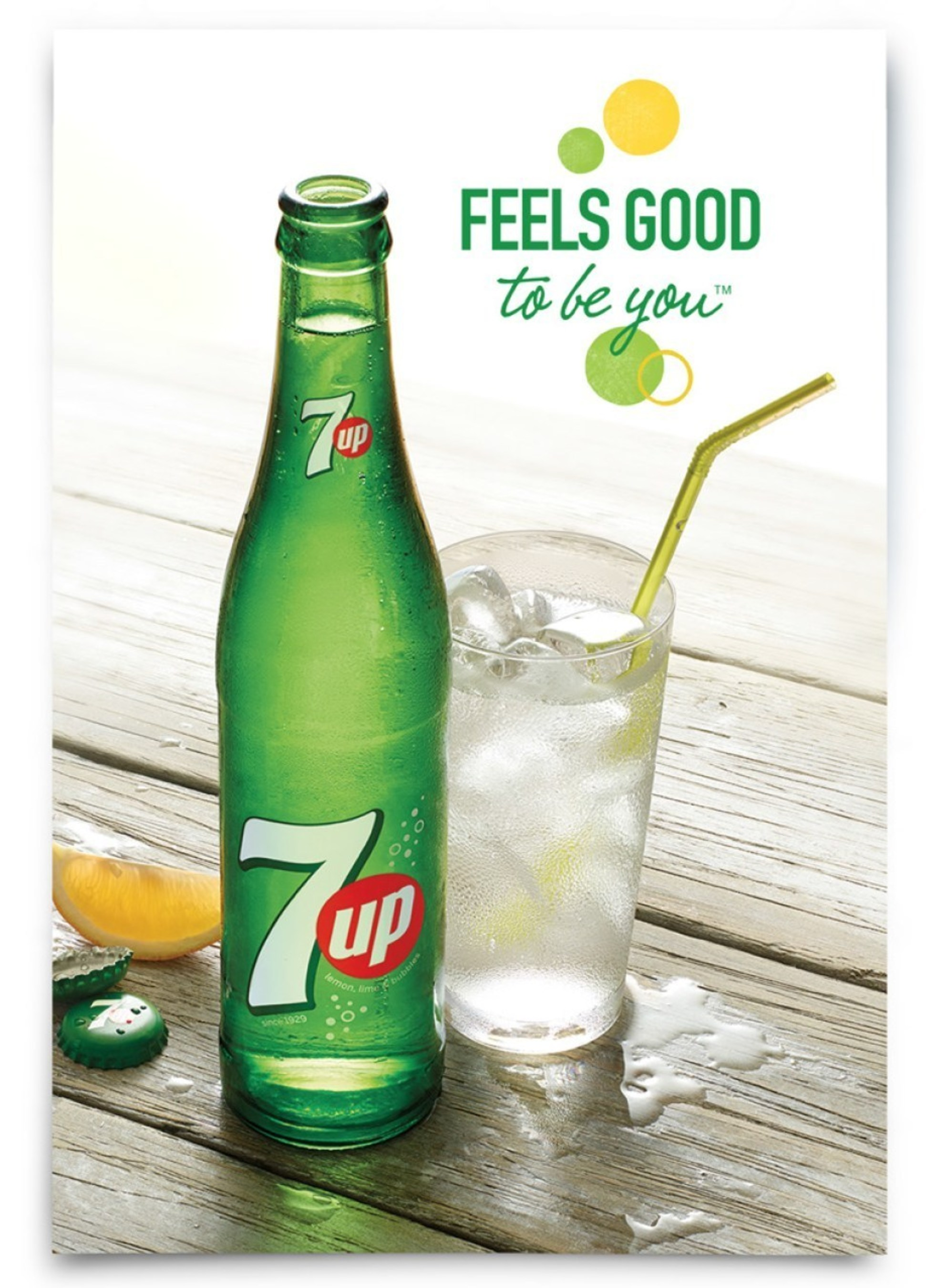 7up(R) ushers in refreshing new era with new visual identity and global campaign celebrating up & coming originals. #FeelsGoodToBeYou.