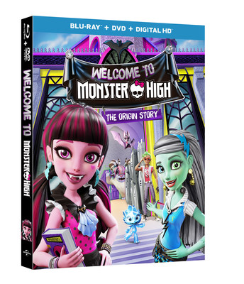 From Universal Pictures Home Entertainment: Welcome to Monster High
