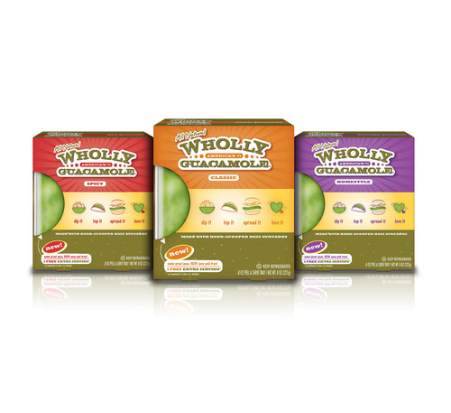 Celebrate National Guacamole Day with Wholly Guacamole(R) dip!. (PRNewsFoto/Wholly Guacamole) ...