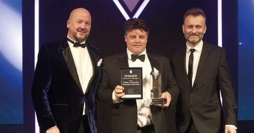 TRISTAR WORLDWIDE WINS AT THE BUSINESS TRAVEL AWARDS! (PRNewsFoto/Tridtar Worldwide) (PRNewsFoto/Tridtar Worldwide)