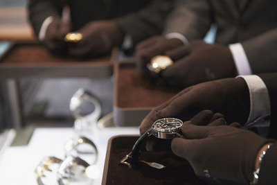 Tourneau technicians advance watches forward for Daylight Saving Time.  (PRNewsFoto/Tourneau)