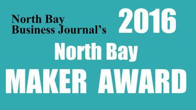 North Bay Business Journal's 2016 North Bay Maker Award