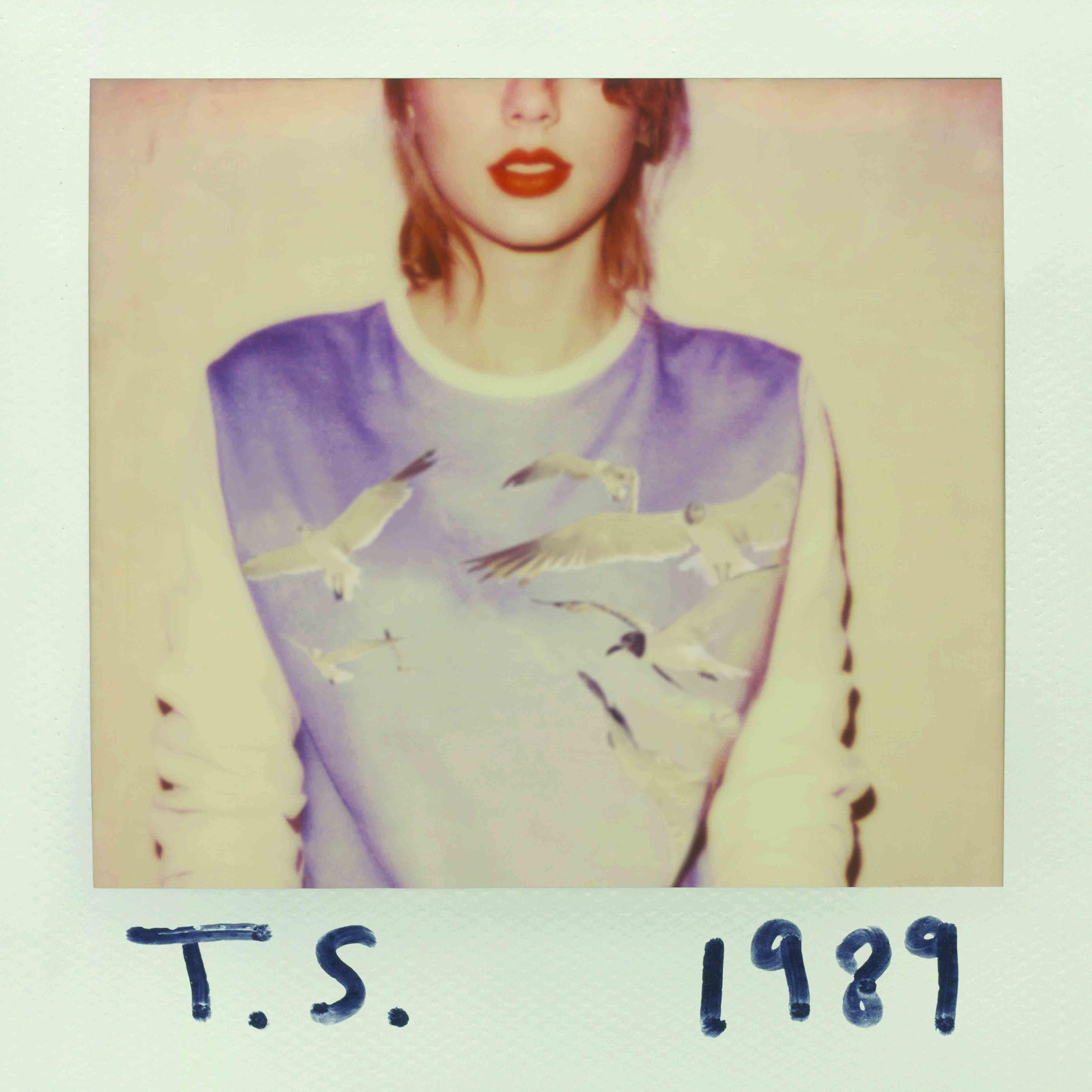 Taylor Swift's 1989 album cover. (Big Machine Records)