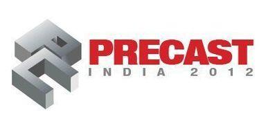 Precast India 2012 logo