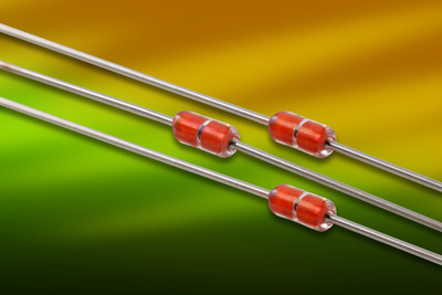 New DO-35 Thermistor with Wide Ohmic Resistance Range Available from Measurement Specialties. (PRNewsFoto/Measurement Specialties Inc.) (PRNewsFoto/MEASUREMENT SPECIALTIES INC.)