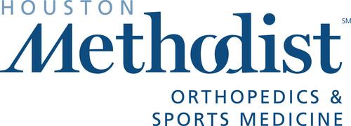 Houston Methodist Orthopedics & Sports Medicine Logo. (PRNewsFoto/Houston Methodist Orthopedics & Sports Medicine) (PRNewsFoto/HOUSTON METHODIST ORTHOPEDICS...)